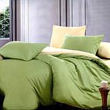 """Комплект постельного белья ТМ """"Ловец снов"""", Однотонный зеленый, фото 2"""