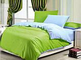 """Комплект постельного белья ТМ """"Ловец снов"""", Однотонный зеленый, фото 3"""