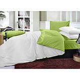 """Комплект постельного белья ТМ """"Ловец снов"""", Однотонный зеленый, фото 4"""