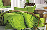 """Комплект постельного белья ТМ """"Ловец снов"""", Однотонный зеленый, фото 6"""