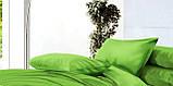 """Комплект постельного белья ТМ """"Ловец снов"""", Однотонный зеленый, фото 7"""