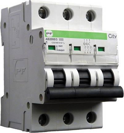 Автоматический выключатель Промфактор City AB2000 3р С16А, фото 2
