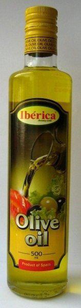 Оливкова олія Iberica 500мл чиста рафінована с/б