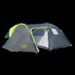 Намет Green Camp 1009 туристична для відпочинку або кемпінгу 4-х місна