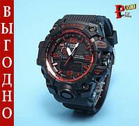 Спртивные часы Casio G-Shock GWG-1000 Black Red