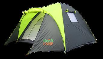 Намет Green Camp 1011 тримісна туристична