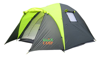 ПалаткаGreen Camp 1011 трехместная туристическая