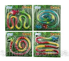 Желейные конфеты без глютена Snake Jelly (Змея 1м) Vidal Испания 66 г