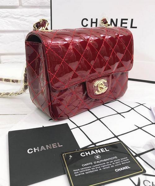 496fd8a2e6a8 Женская сумка CHANEL Mini Flap Red (8133) - Интернет-магазин VipSymki в  Киеве