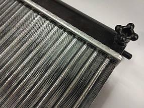 Радиатор охлаждения (2110-12) WEBER алюм., фото 3