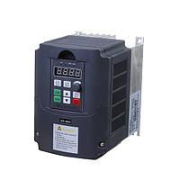 Частотный преобразователь регулятор скорости вращения двигателя переменного тока 220В 1500Вт