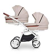 Детская универсальная коляска 2 в 1 для двойни Easy Go 2OFUS