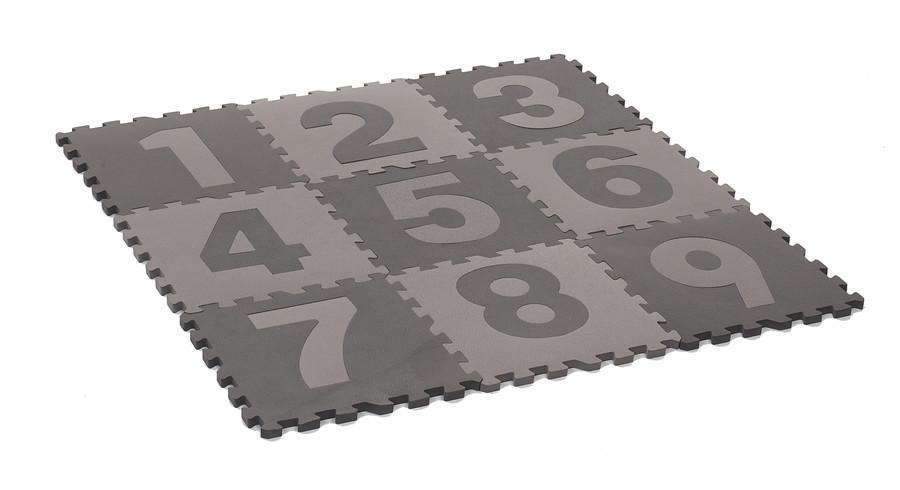 Baby Dan - Игровой коврик-пазл, gray/numbers