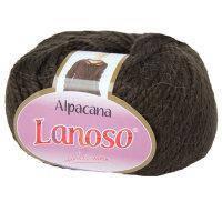 Lanoso Alpacana коричневый № 3007