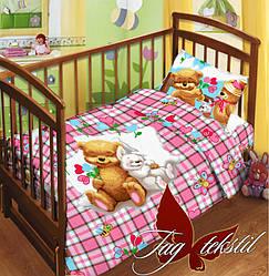 Комплект постельного белья в кроватку Детство