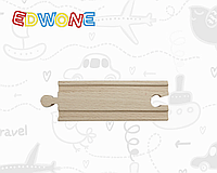 Пряма 10 см дерев'яна, Edwone(Ikea)