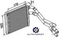 Радиатор печки (отопителя) Ford Fiesta 2013-