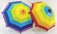 Зонт детский трость горошек, фото 1