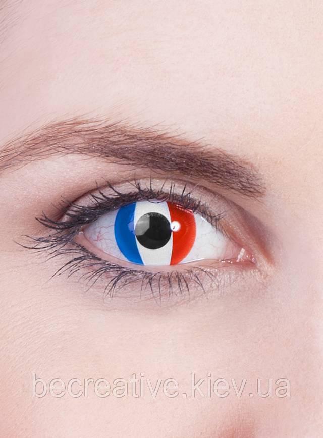 """Декоративные контактные линзы """"Франция"""""""