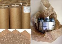 Бумага для упаковки металлоизделий, размотка больших рулонов на рулоны небольшого веса