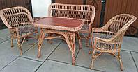 Плетеная мебель для лоджии, фото 1
