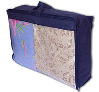 Сумка для хранения вещей\сумка для одеяла (L, Синий)