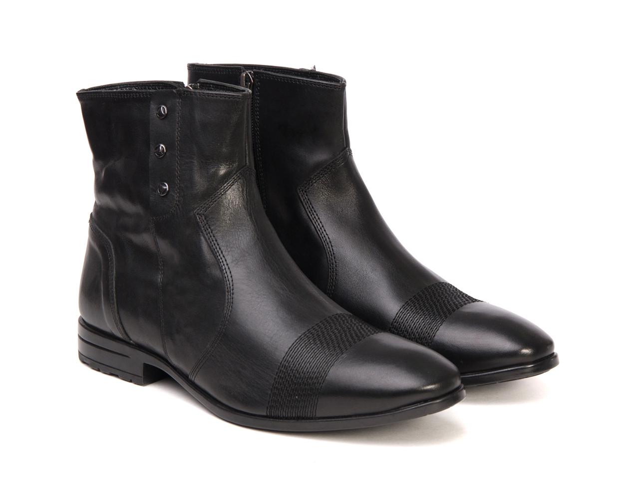 Ботинки Etor 5933-7040 черные