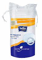 Подушечки ватные bella cotton, круглые, 25 шт.