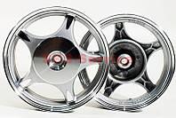 Диск литой задний  на  скутер Wind 2,15x10