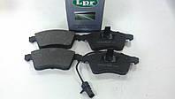 "Колодки тормозные передние VW TRANSPORTER T4 1.9 TD - 2.5 1990-2003 ""LPR""05P787 - производстваИталия, фото 1"