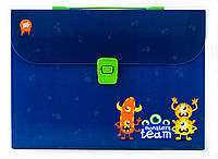 """491236 Портфель пластиковый 1 Вересня """"Monsters"""""""