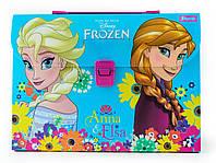 """491220 Портфель пластиковый 1 Вересня """"Frozen"""", фото 1"""