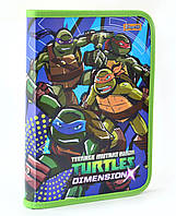 """491192 Папка для тетрадей пластик на молнии В5 1 Вересня """"Ninja Turtles"""""""