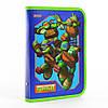 """491373 Папка для тетрадей пластик на молнии В5 1 Вересня """"Ninja Turtles"""""""