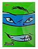 """491190 Папка-конверт на кнопке А4 1 Вересня """"Ninja Turtles"""""""