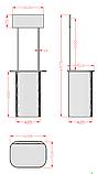 Промостол MIDI 700 банер, фото 4