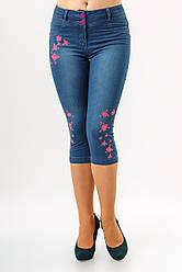 Капри джинсовые молодежные