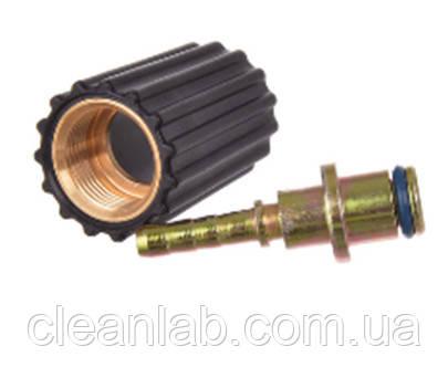 Концевик на шланг d6 M22х1,5   14мм            (гайка удлиненная)