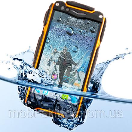 "Защищенный смартфон Discovery V8, Multitouch-дисплей 4"", GPS, 3G, MTK6572 (2 ядра)."