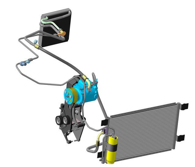 Система кондиционирования и обогрева Renault Captur