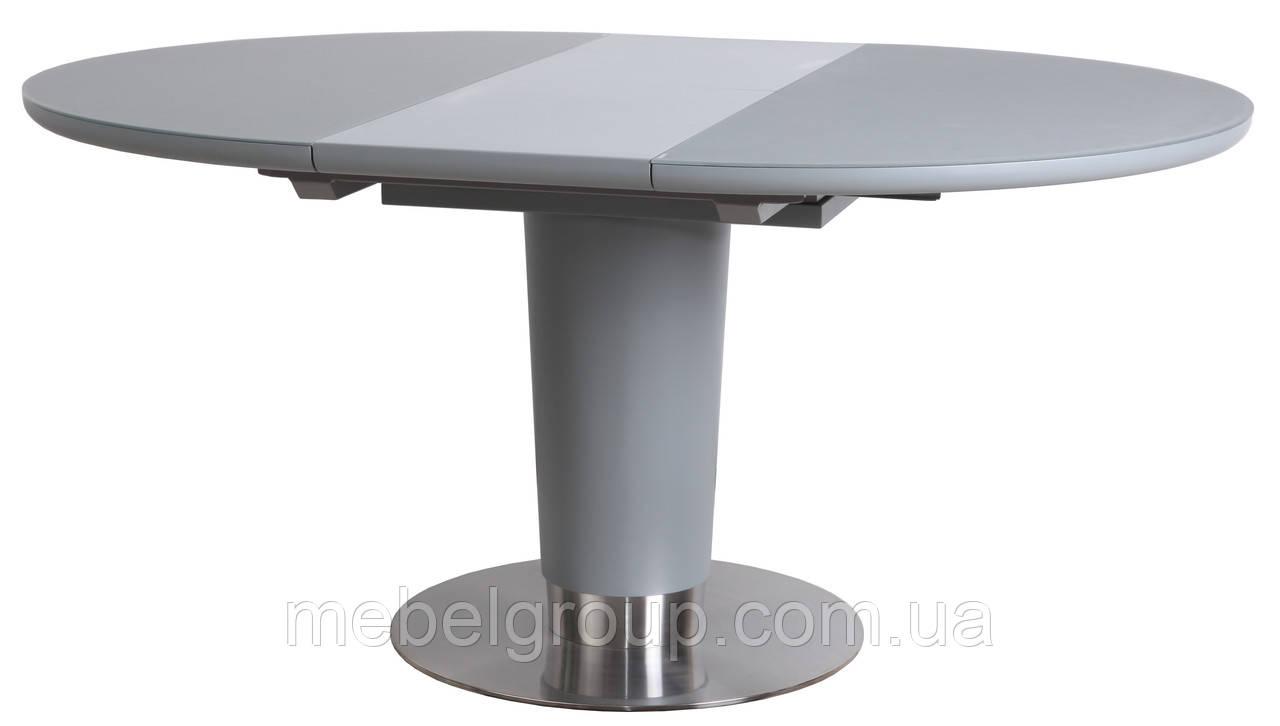 Стол TML-518 серый 120/160x120