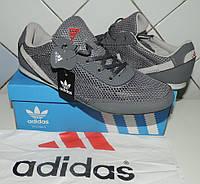 Кроссовки Adidas Daroga летние. Сетка+натуральная кожа. Производство Индонезия, реплика, фото 1