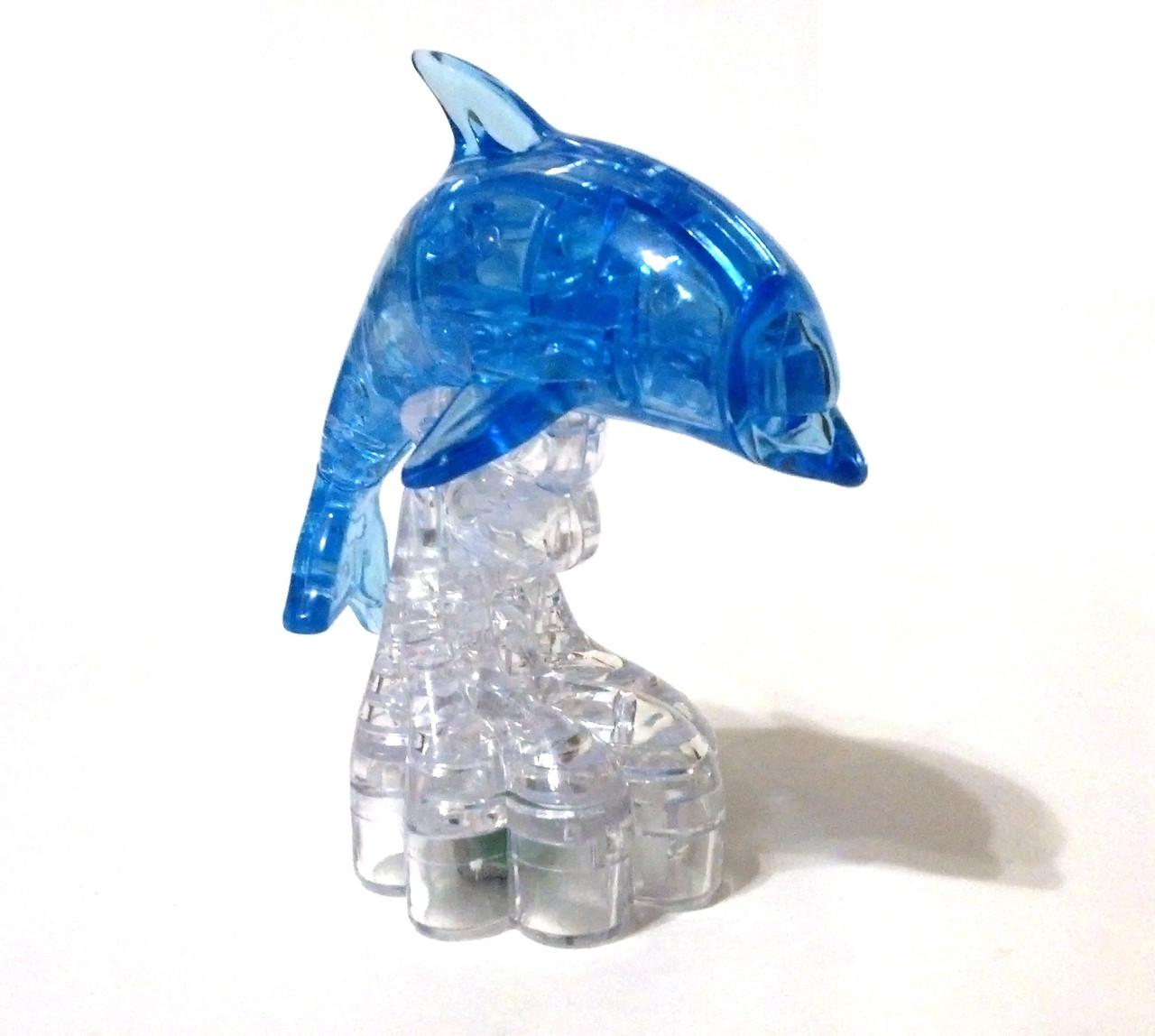 """Кристаллический пазл 3D """"Дельфин"""""""