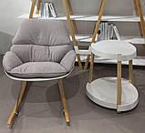 Кресло-качалка SERENITY (Серенити) серое Concepto (бесплатная доставка), фото 6
