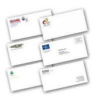 Заказать конверты с логотипом, печать на конвертах