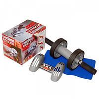 Новинка! Колесо для пресса Power Stretch Roller! тренажер идеального пресса
