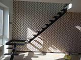 Каркас лестницы на центральной несущей с поворотом 90 гр, фото 2