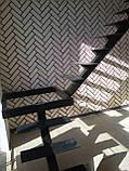 Каркас лестницы на центральной несущей с поворотом 90 гр, фото 3
