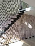 Каркас лестницы на центральной несущей с поворотом 90 гр, фото 4