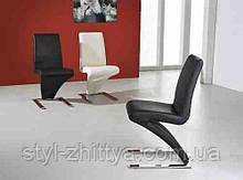 """Крісло Модерн """"Z"""" , білий або чорний k-375"""